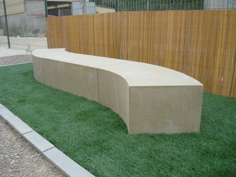 Mobiliario urbano en piedra natural for Mobiliario urbano tipos