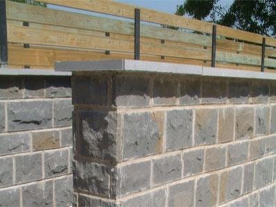 Qu son las albardillas de piedra natural - Muro de piedra natural ...