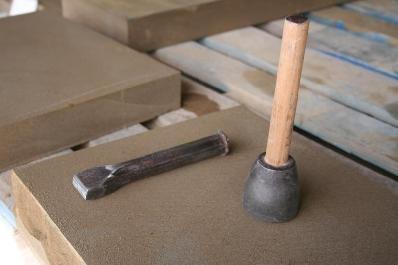 Cantería manual en piedra natural