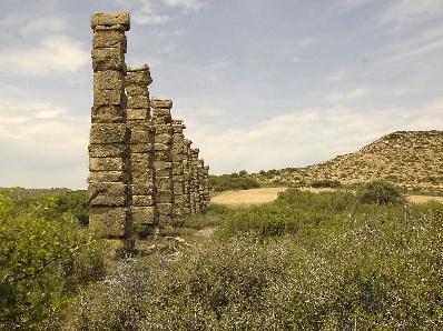Edificios históricos en piedra natural