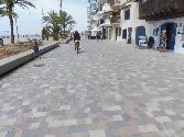 Pavimentación del Paseo Marítimo de Calafell