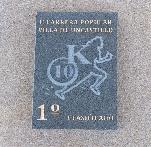 Trofeos de la carrera 10k realizados en piedra Azul Pirineo