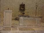 Santa Cruz de la Serós estrena su ambón de piedra