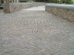 Pavimentos de piedra en calles y plazas