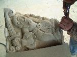 Restauración de monumentos en piedra Natural