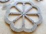 Adoquines con diseño especial en piedra Azul Pirineo