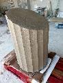 Proceso productivo de un monolito en piedra Arenisca Uncastillo