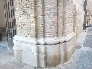 Detalle de restauración de la Catedral de Tarazona