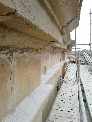 Trabajos de restauración en la Iglesia de San Martín, Casalarreina