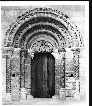Fotografia de la portada original de San Miguel de Uncastillo