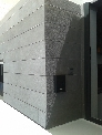 Revestimiento de fachada en piedra Azul Pirineo (aplacado)