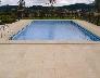 Pavimentación exterior piscina
