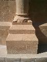 Restauración en piedra arenisca de Uncastillo (Tirgo)