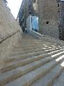 Escalones en piedra Gris Moncayo