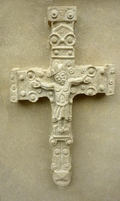 Relieve  de Cristo crucificado