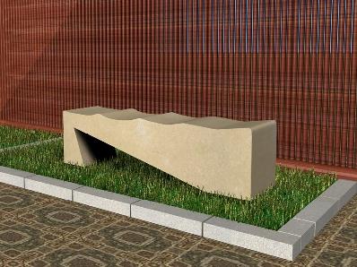 Recreación  modelo Oporto en piedra arenisca de Uncastillo