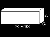 Ref. Bordillo 12x25