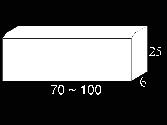 Ref. Bordillo 6x25