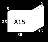 Jamba A15  25X30X15