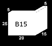 Jamba B15  25X20X15