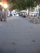 Pavimentacion de Barbastro (Azul)