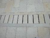 Pavimento en Gris Moncayo abujardado