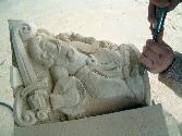 esculturas y otros en Arenisca Uncastillo
