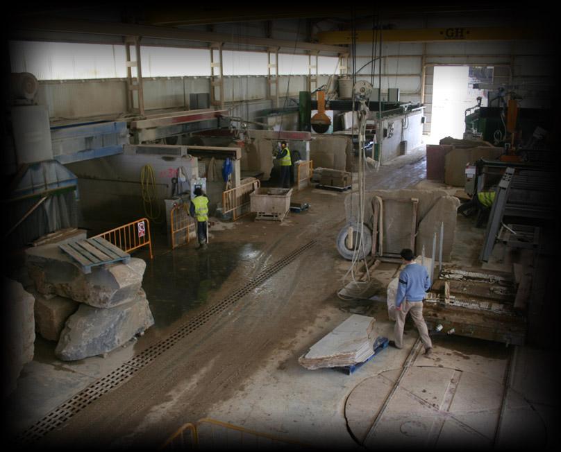 Instalaciones, taller de maquinaria